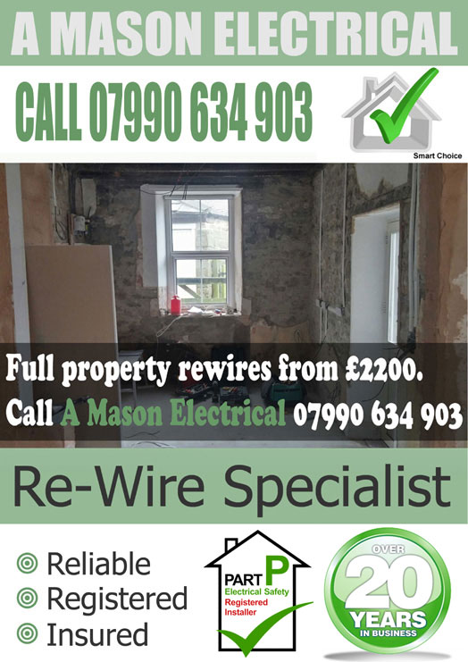 property rewires sheffield